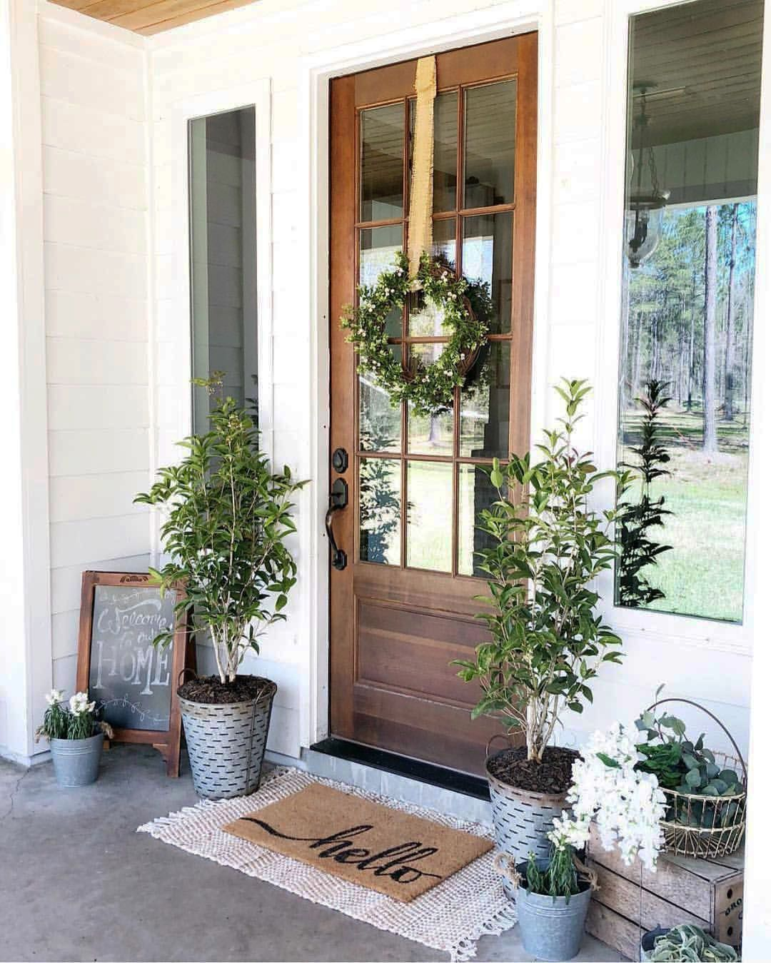fresh front porch ideas ranch style homes on this favorite on gorgeous modern farmhouse entryway decorating ideas produce a right one id=65059