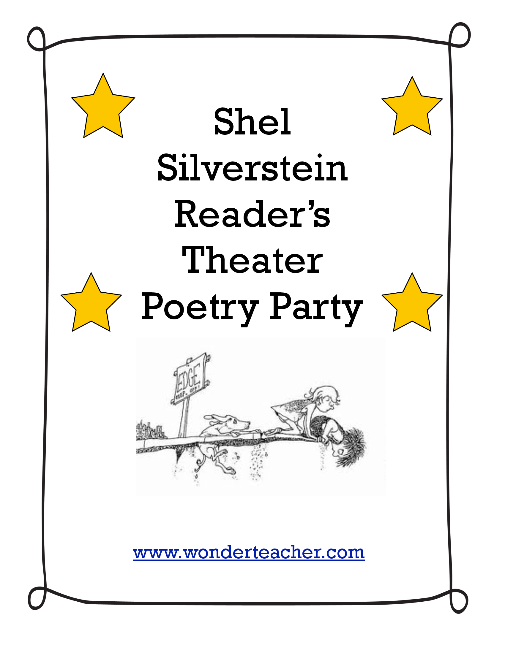 Shel Silverstein Poetry Party