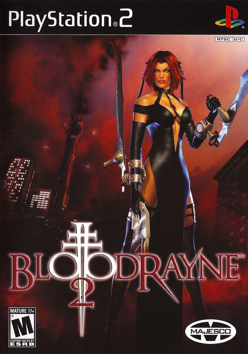 BloodRayne 2 (2004) PlayStation 2 box cover art