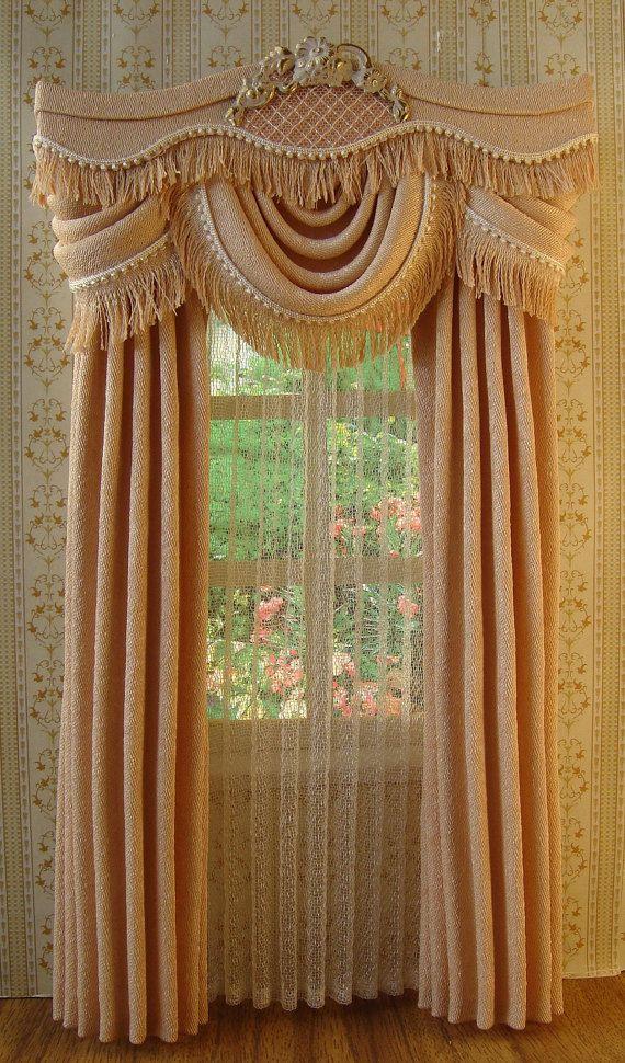 farbe beige die vorh nge messen 12cm breite x 20 5 cm lang 4 7 zoll breit x 8 zoll h he. Black Bedroom Furniture Sets. Home Design Ideas