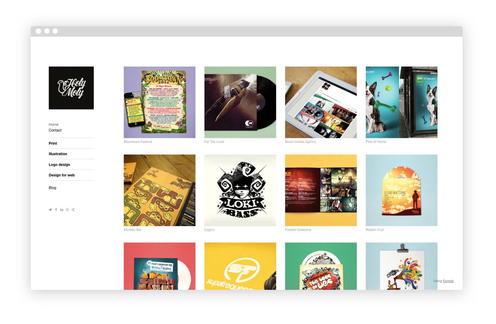 36 Amazing Design Portfolio Website Examples Portfolio Design Portfolio Website Design Digital Graphic Design