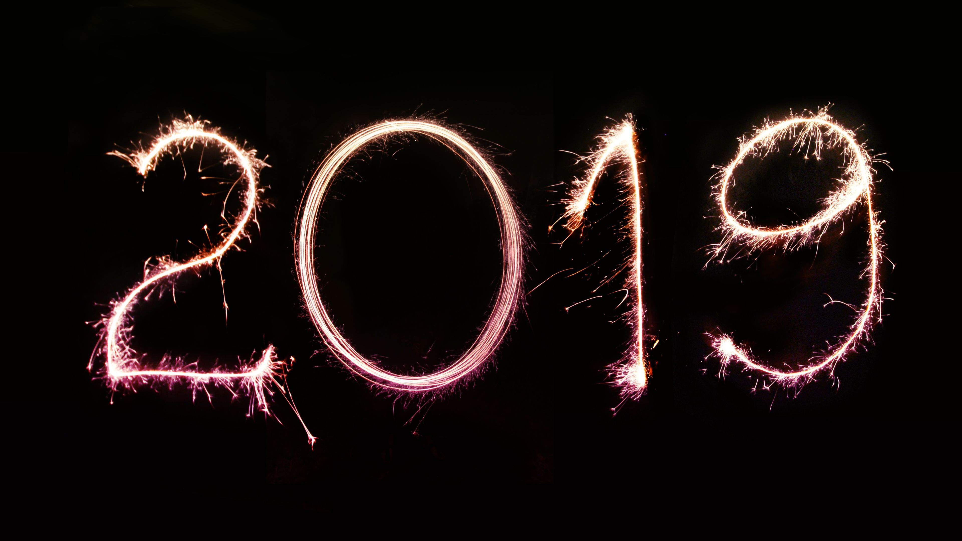 Happy New Year 2019 4k hdwallpapers, happy new year 2019