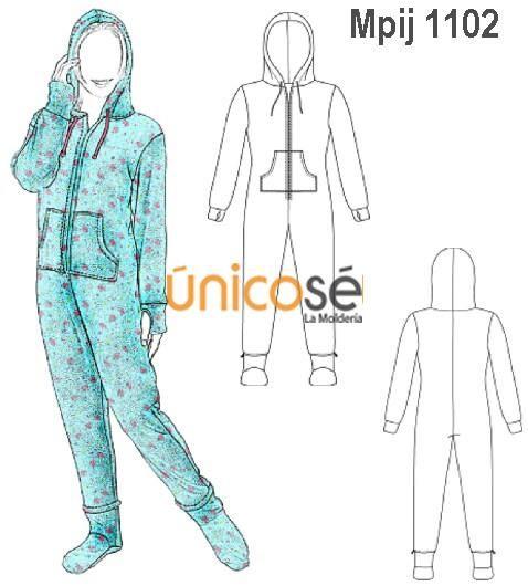 05b56084f1 moldes para pijama enteriza - Buscar con Google