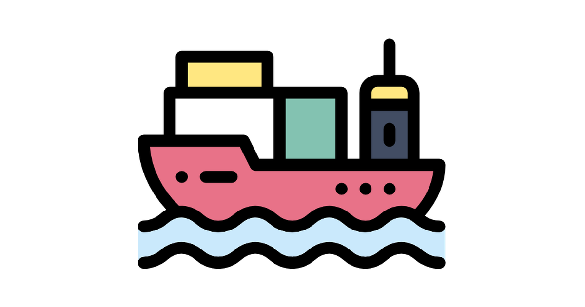 Cargo Ship Free Vector Icons Designed By Freepik Vector Free Vector Icon Design Free Icons