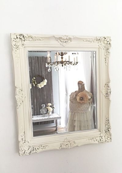 Shabby Chic Bathroom Mirrors Shabbychicbathroom