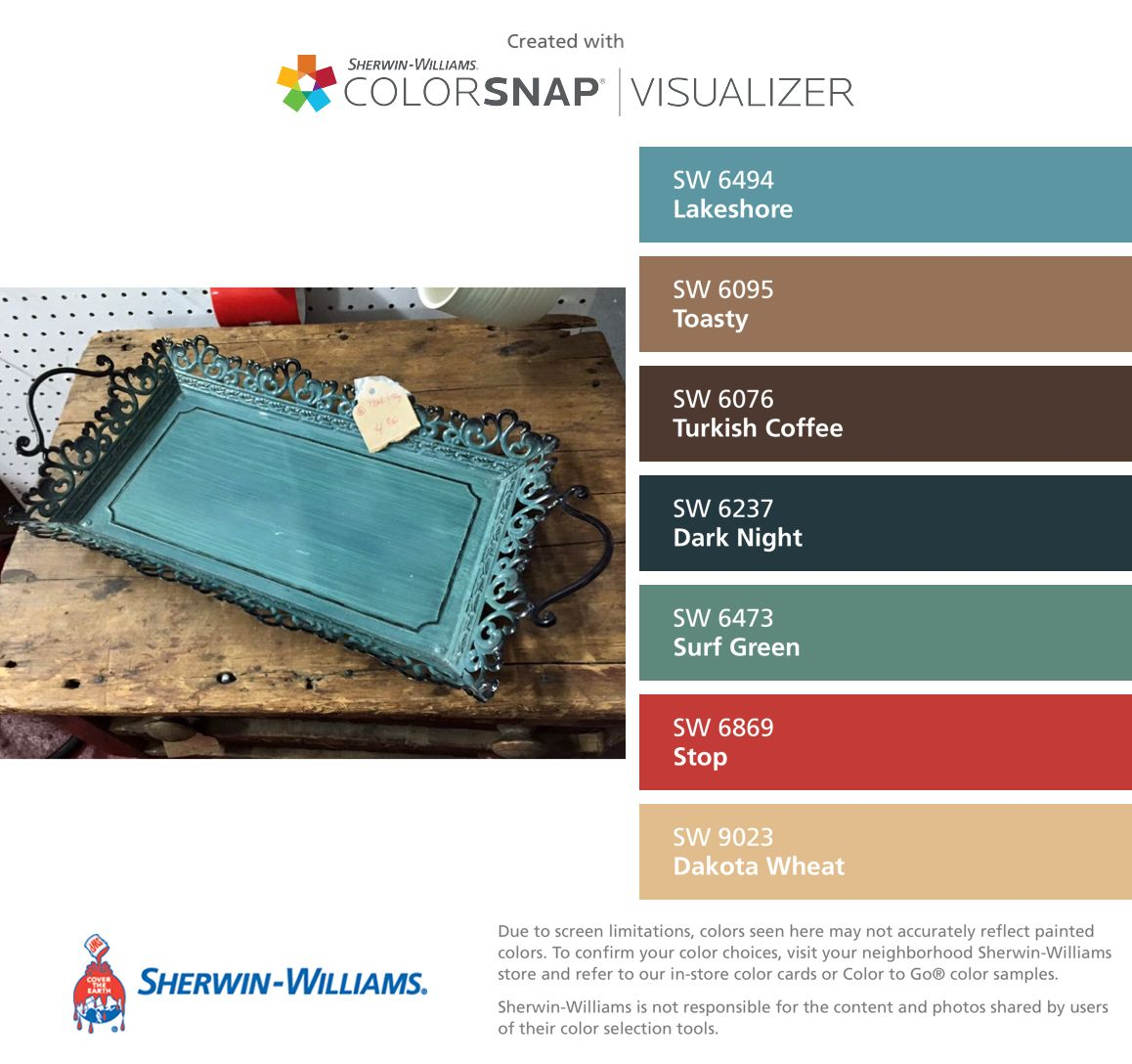 I Found These Colors With Colorsnap Visualizer For Iphone By Sherwin Williams Lakeshore Sw 649 Paint Color App Paint Color Inspiration Matching Paint Colors