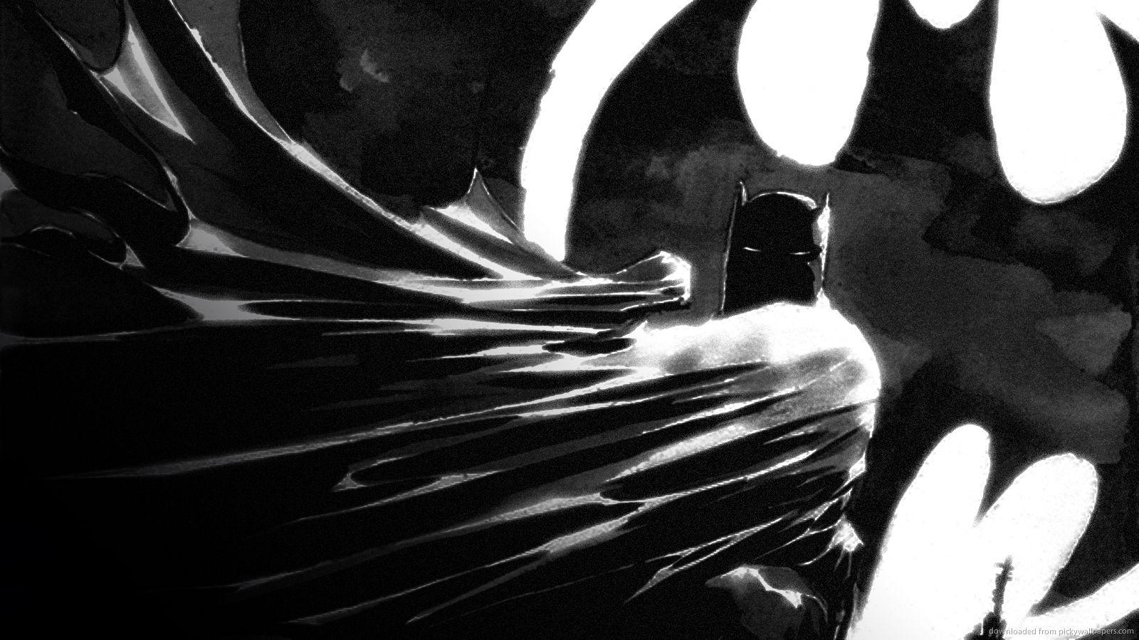 Download 1600x900 The Batman Wallpaper Рисунки