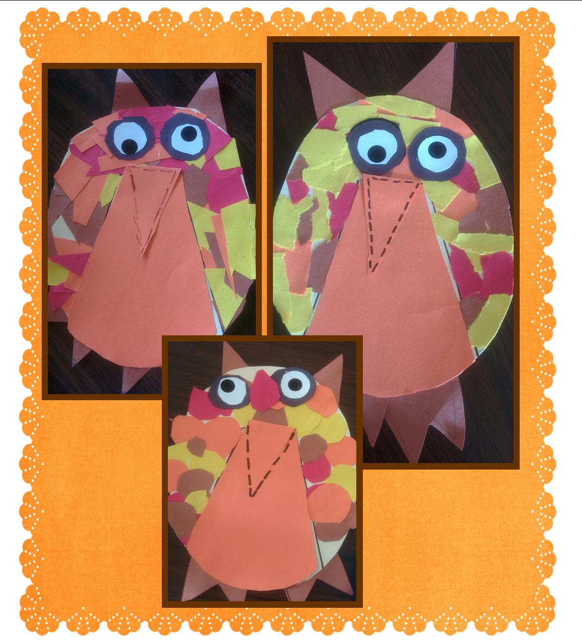 "We ""Owl"" Love Fall craft"