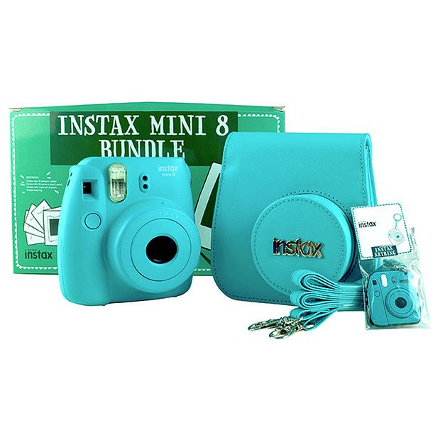 33ba1e694a6e FUJIFILM Instax Mini 8 Camera Bundle - Jade