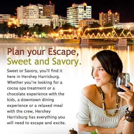 The Hershey Harrisburg Region Located In Driving Distance From