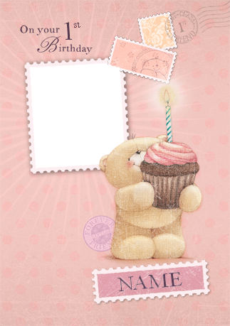 Ff Vintage Girl 1st Photo In 2021 Birthday Cards For Friends Happy 1st Birthday Wishes 1st Birthday Wishes