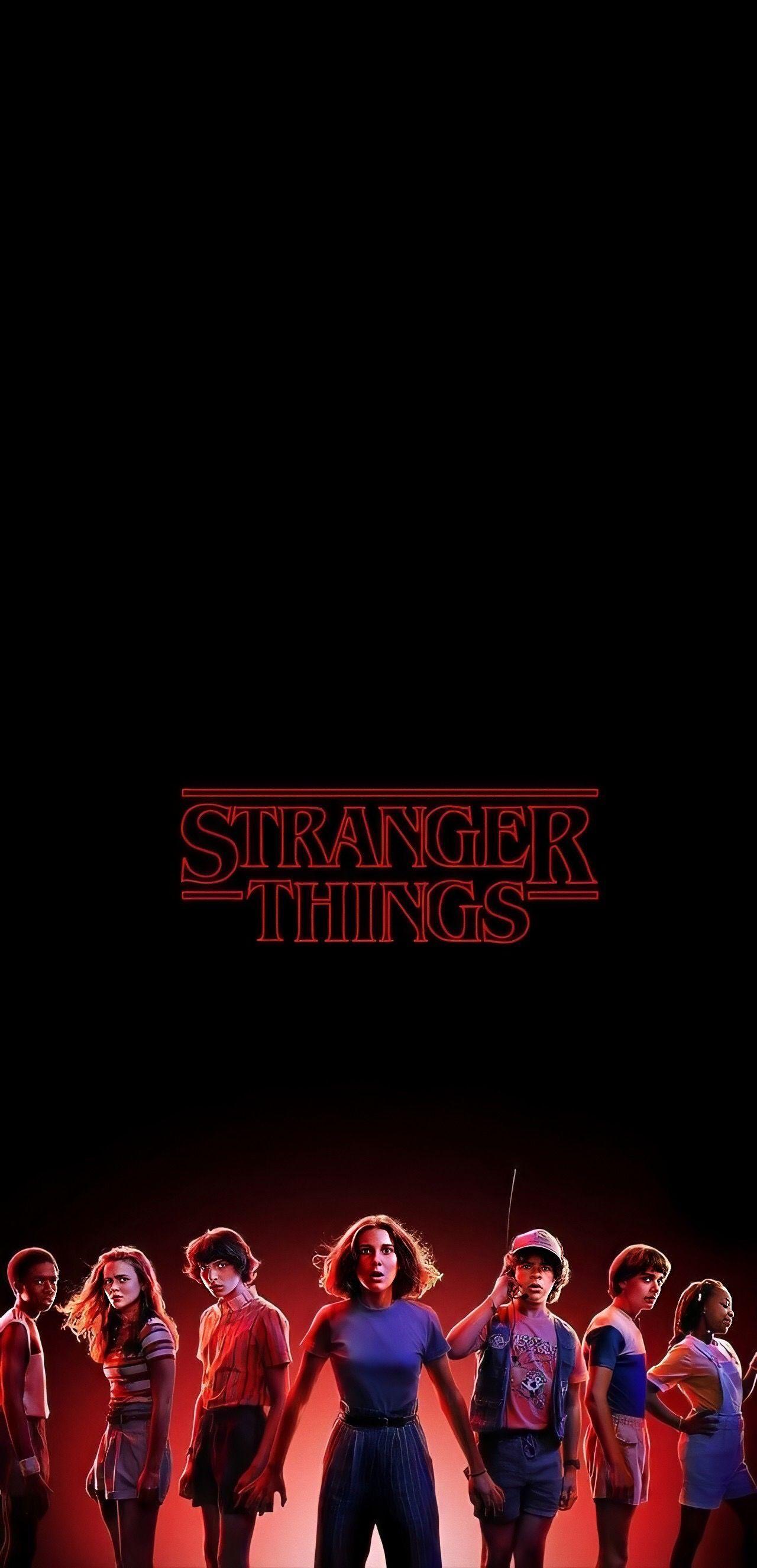Stranger Things Stranger Things Wallpaper Red Aesthetic Stranger Things