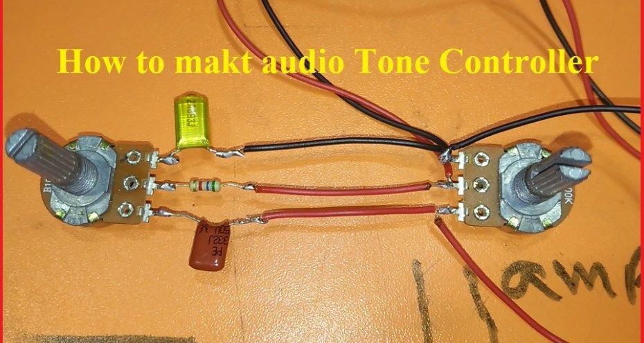 how to make tone controller for audio amplifier? | اختراعات
