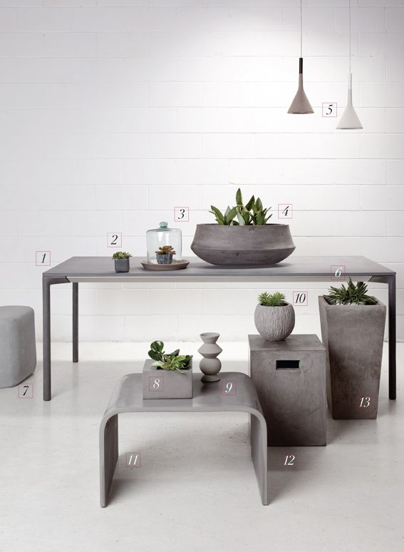 Concrete Home Decor Google Search Hairs In 2018 Pinterest