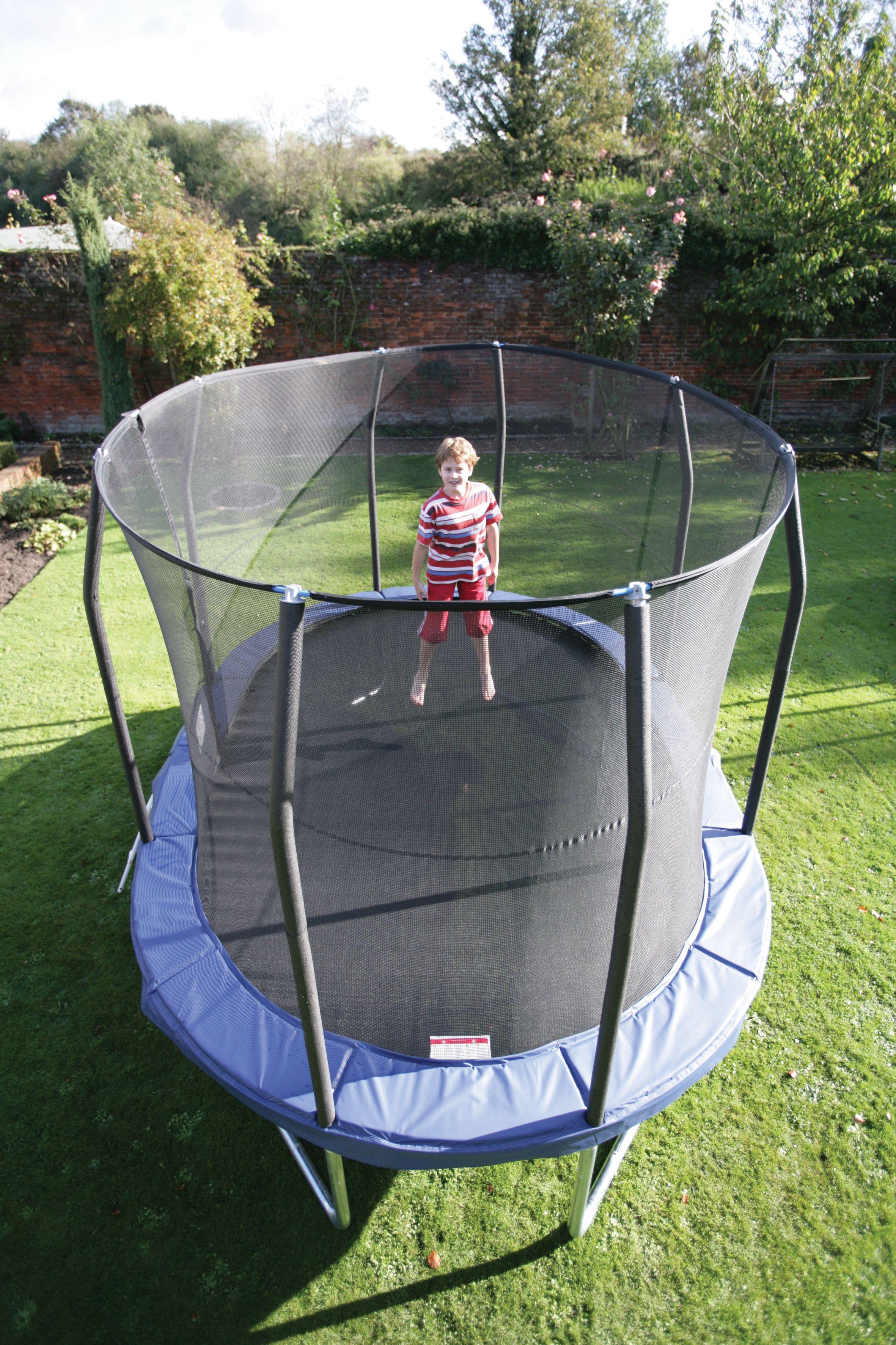 Oval trampoline! OvalPOD® trampoline kids Trampolino