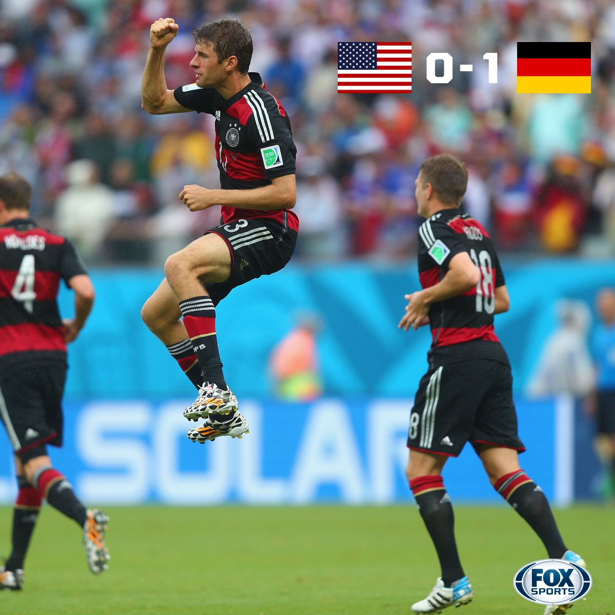 2014 World Cup Group G The USA and Germany advance