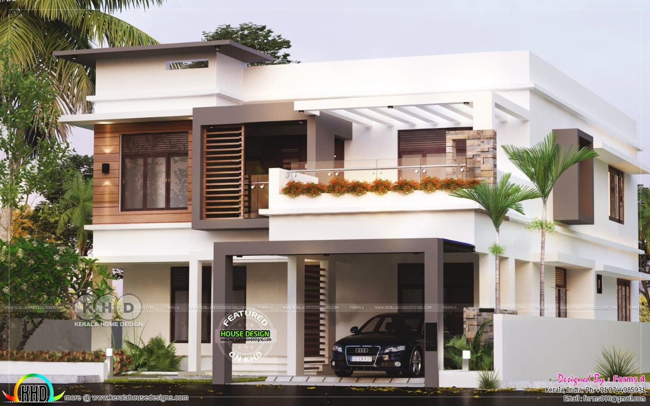 25 Lakhs Contemporary Style Residence In 2020 Kerala House