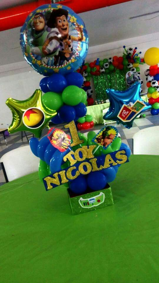 Toy Story Centerpieces Toy Story Birthday Party In 2019