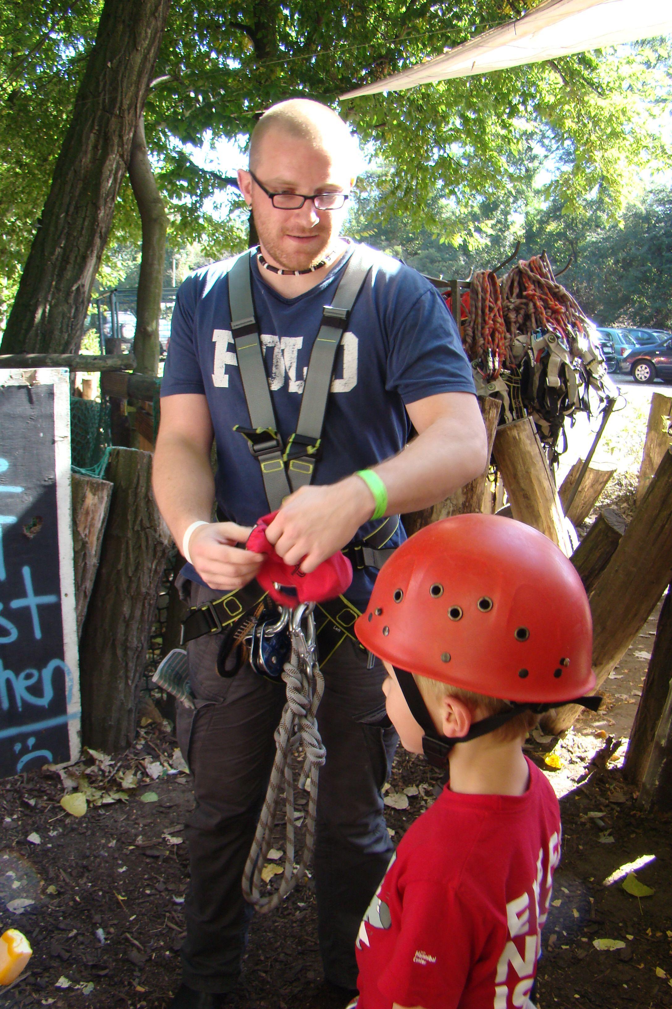 Klettergarten - Ausrüstung