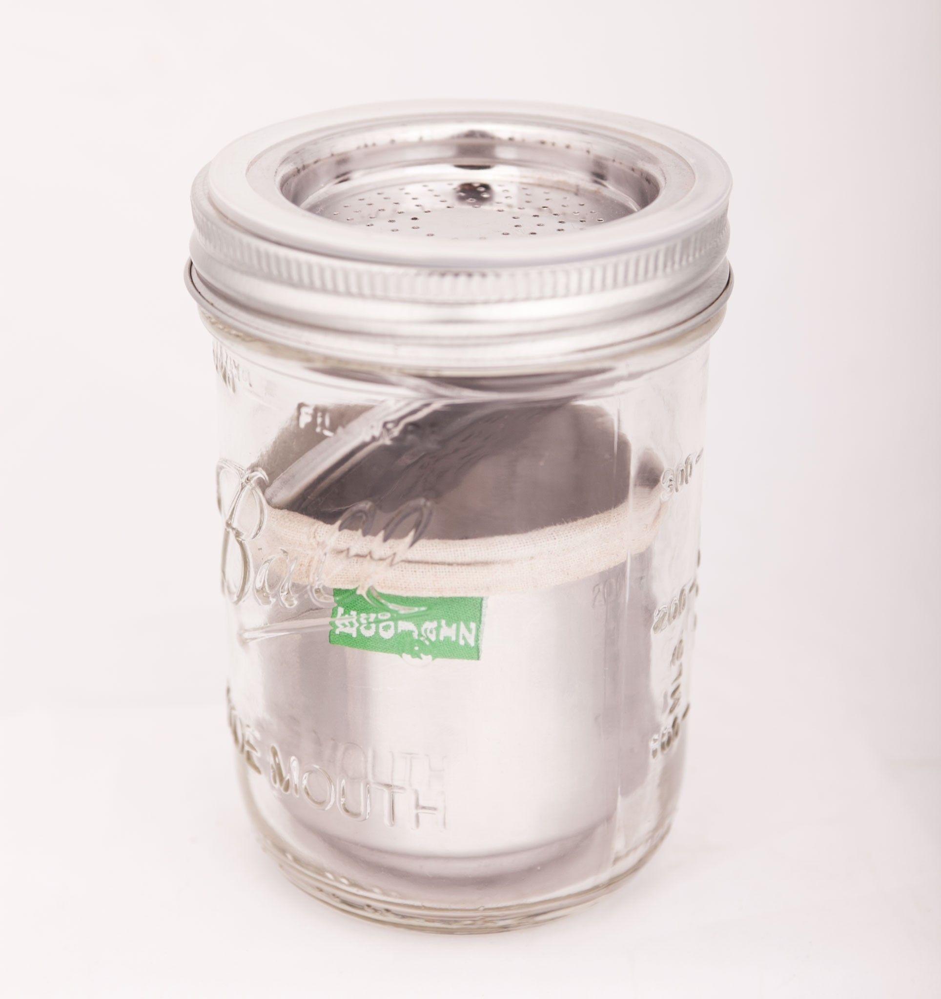 Ecojarz Dose Pour Over Coffee And Tea Kit For Jars