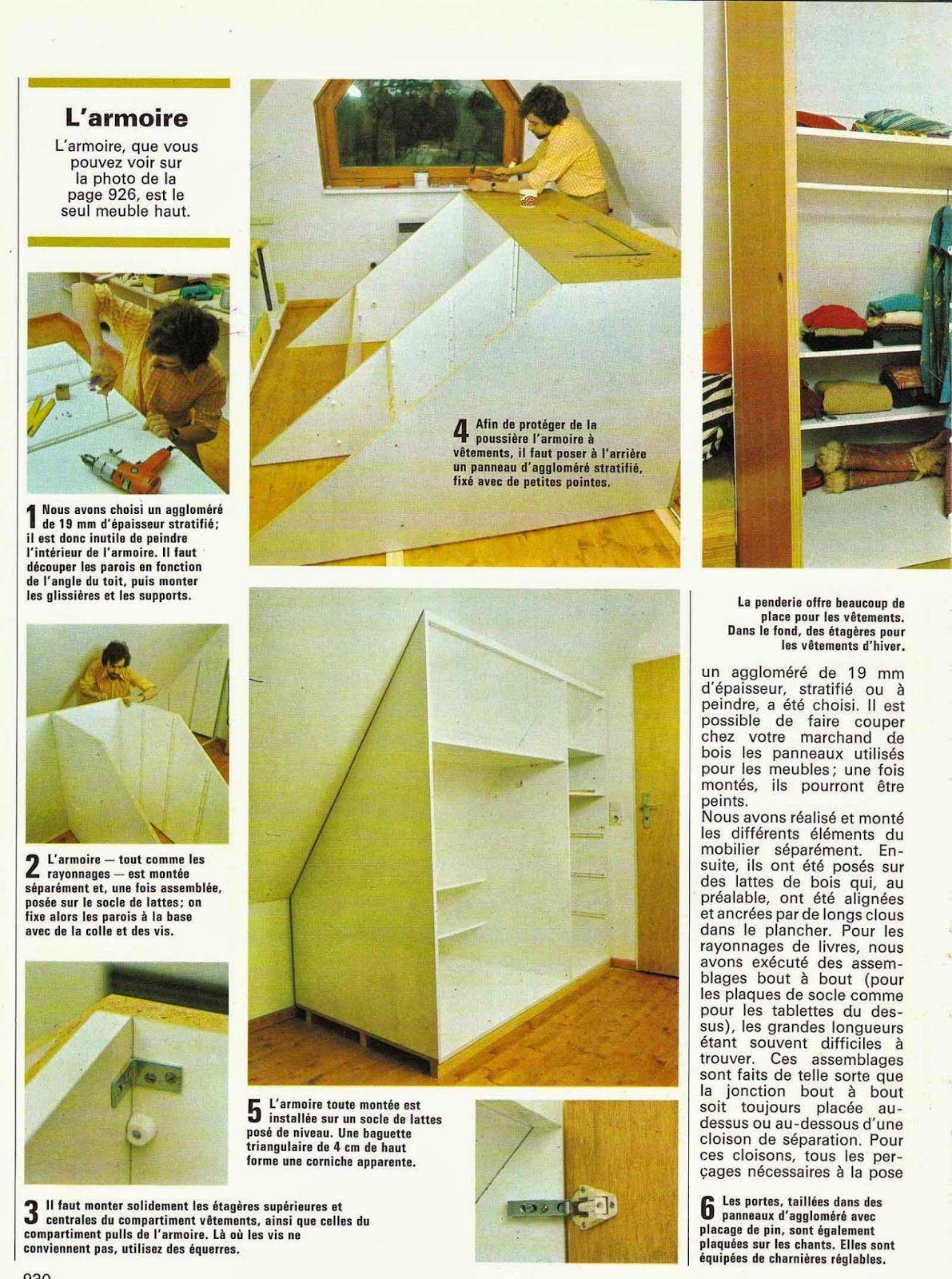 diy vintage couture tricot loisirs cr atifs ann es 70 comment am nager une chambre. Black Bedroom Furniture Sets. Home Design Ideas