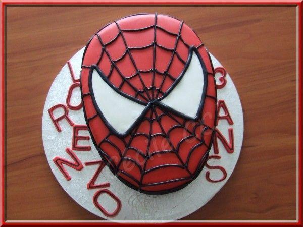 tutoriel pour réaliser un gâteau 2d en forme de tête de spiderman