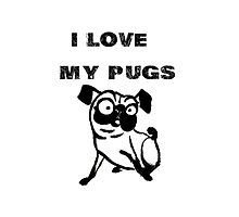 I love my PUGS by fairmaiden7