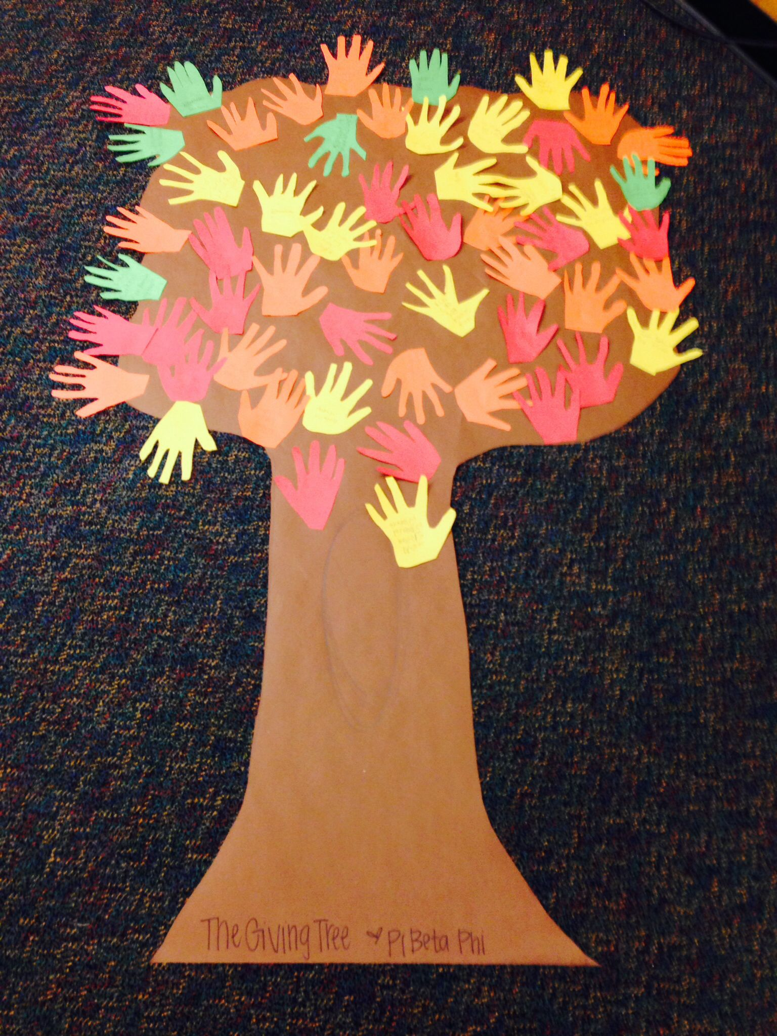 Today We Read The Giving Tree And Then Our Classes Made