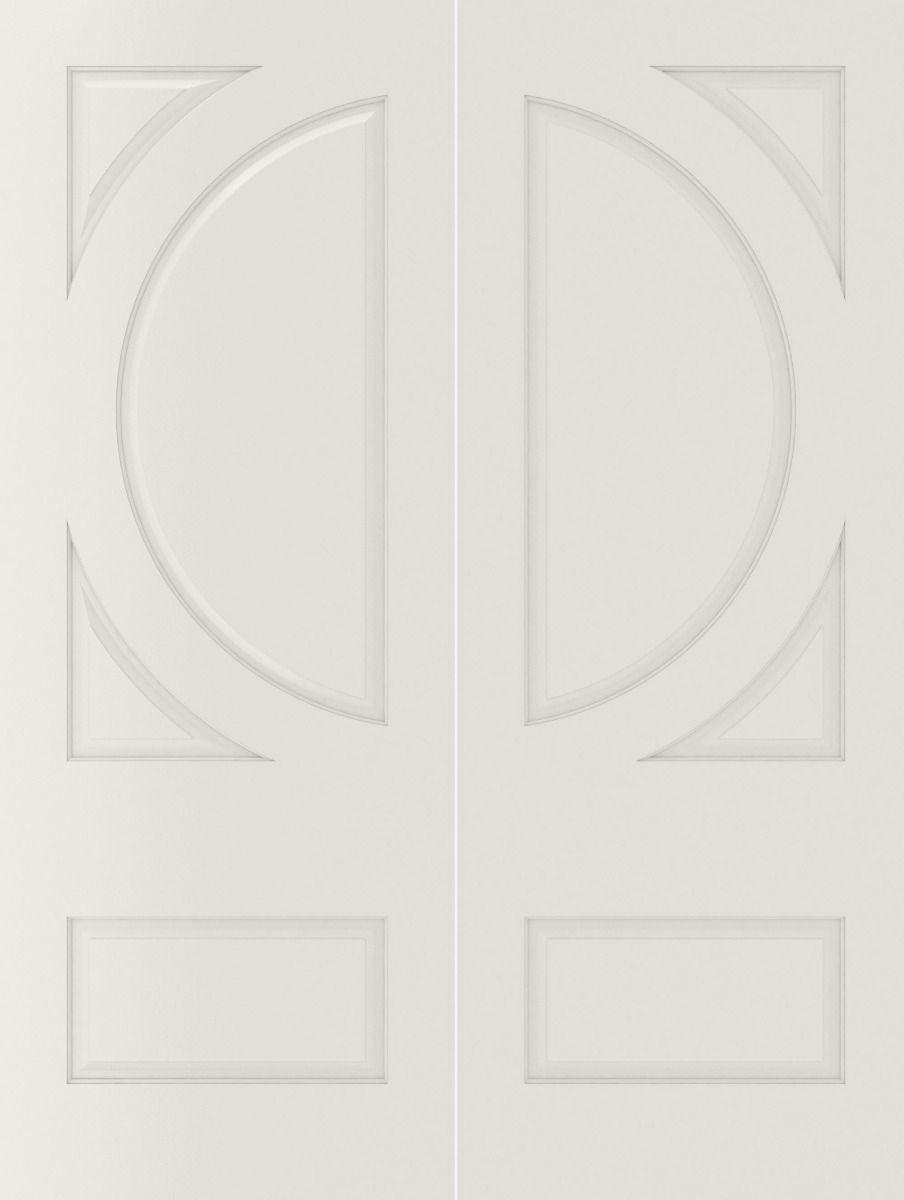 Boston 2 Panel Square Top White Primed With Raised Moulding 1 3 4 Doors Interior Solid Core Interior Doors Double Doors Interior