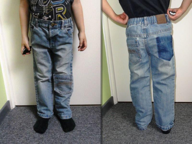 fun patches for boys pants ma couture de d butante pinterest couture jean trou et reparer. Black Bedroom Furniture Sets. Home Design Ideas