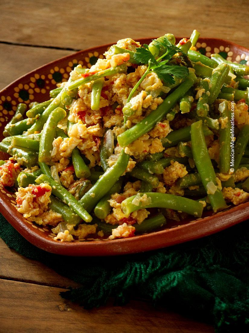 Mexican Green Beans With Eggs Ejotes Con Huevo