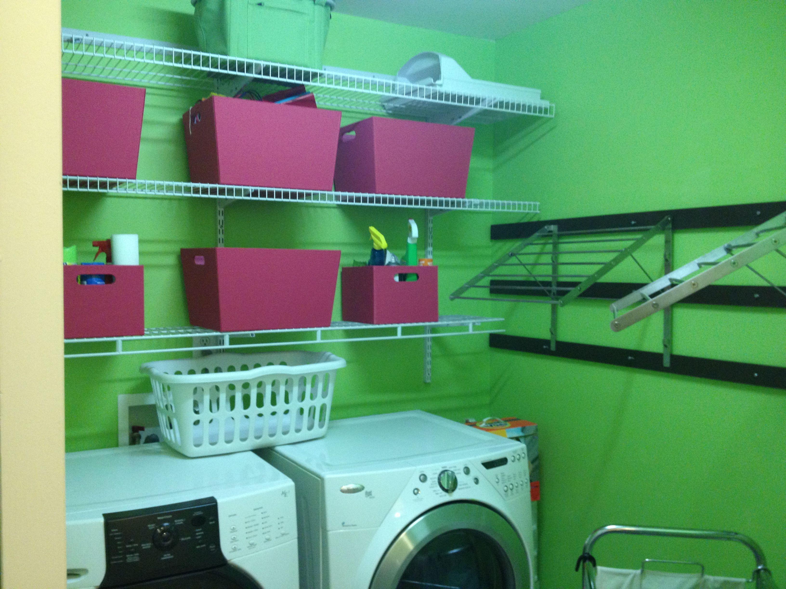 6x Prachtige Bijkeukens : Organized laundry room yay! check! pinterest