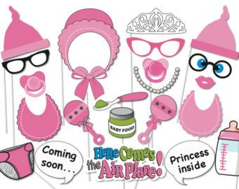 Boy Baby Shower Photo Booth Props