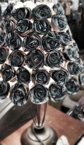 lámpara flores en Creativa Madrid
