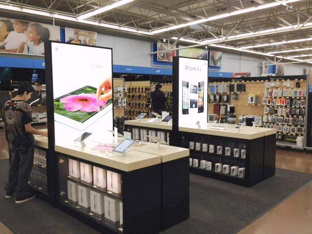 Apple Store Within A Store Concept Appears Inside Walmart 부스