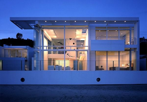 beach homes in california richard meier architecture beautiful white beach home in california - Richard Meier Homes