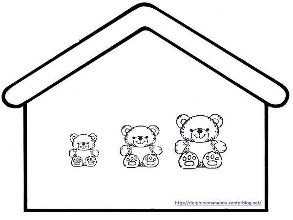 Ours tri de couleur les maisons ecole couleur maternelle et les 3 ours - Chat a colorier maternelle ...