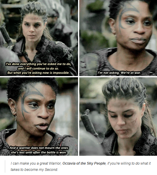 You can't ask her not to worry about lincoln ☆★The 100