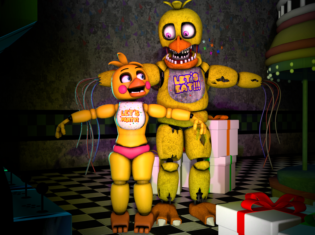 Withered Chica | Five Nights At Freddy'-s Wiki | FANDOM powered by ...