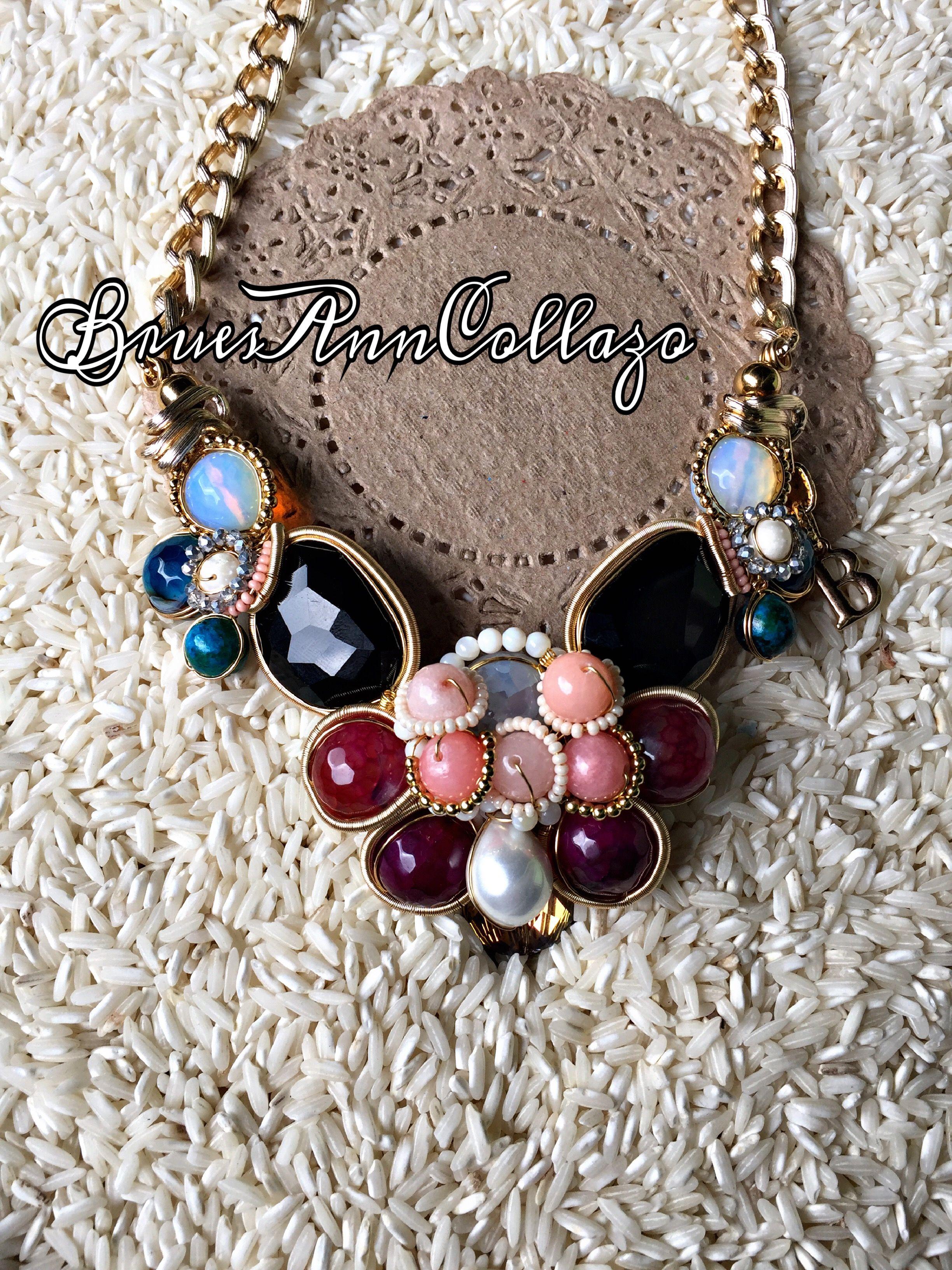 f4334fc9938a Collar alambrismo  BruesAnnCollazo  alambrismo  wirejewelry  wire  joyeria   joyeriaartesanal  necklace