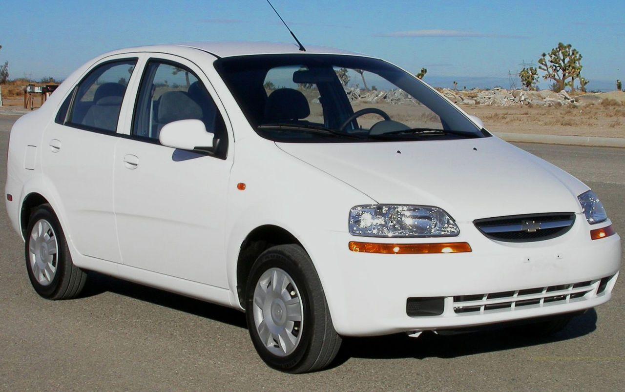 2004 Chevrolet Aveo Sedan Nhtsa Jpg Chevrolet Aveo Chevrolet
