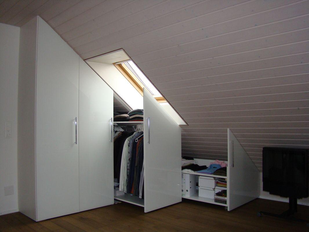 Schrank Unter Dachschräge - Schränke Dachschräge | Die schönsten ...