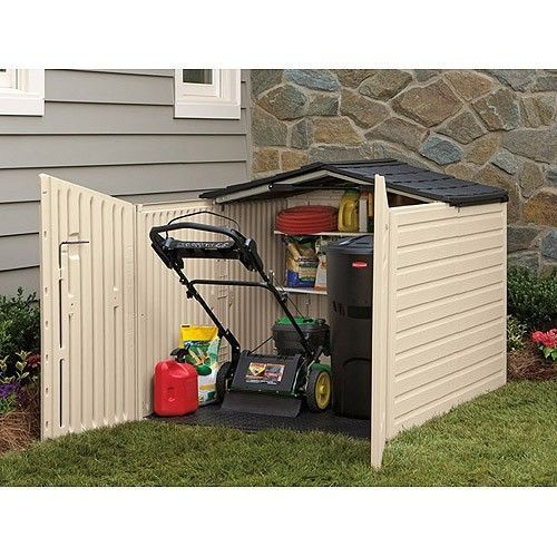Storage Outdoor Shed Deck Box Pool Patio Bench Tool