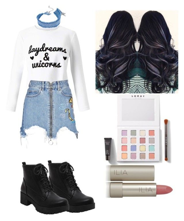 """""""Untitled #572"""" by syshrn on Polyvore featuring Miss Selfridge, Marcelo Burlon, INC International Concepts, LORAC and Ilia"""