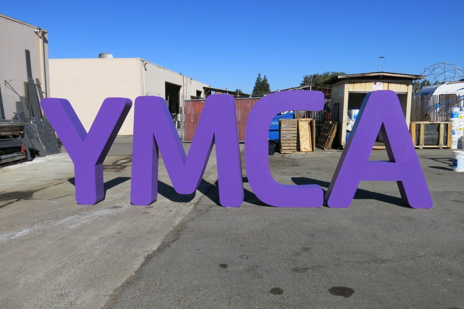 Dimensional large foam letters by wecutfoam fiberglass