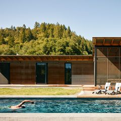 Solar Lap Pools Interesting In The Swim Off The Grid Campsite Healdsburg California Swimming