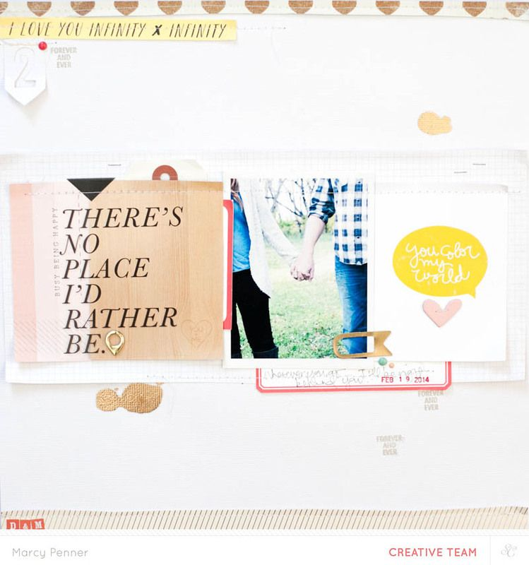 Marcy Penner shows you how she uses Project Life™ cards on her layout in this video tutorial @Studio_Calico