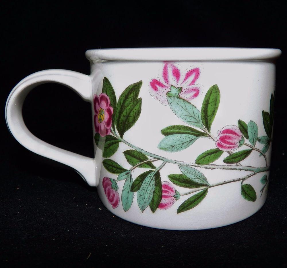 Portmeirion China Made In England Botanic Garden Drum Coffee Cup Mug 4 Designs
