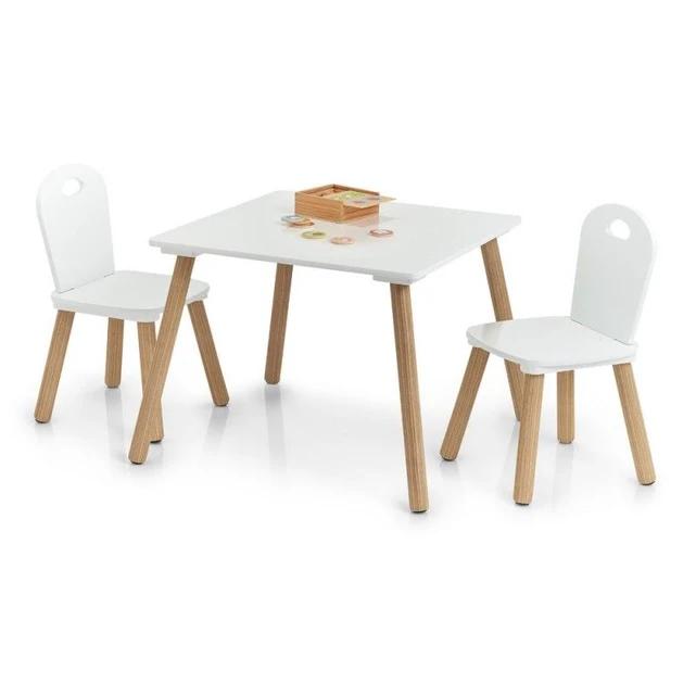 Petite Table Et 2 Chaises Enfant Bois Fsc Scandi Chaise Enfant Meuble Rangement Enfant Table Et Chaise Enfant