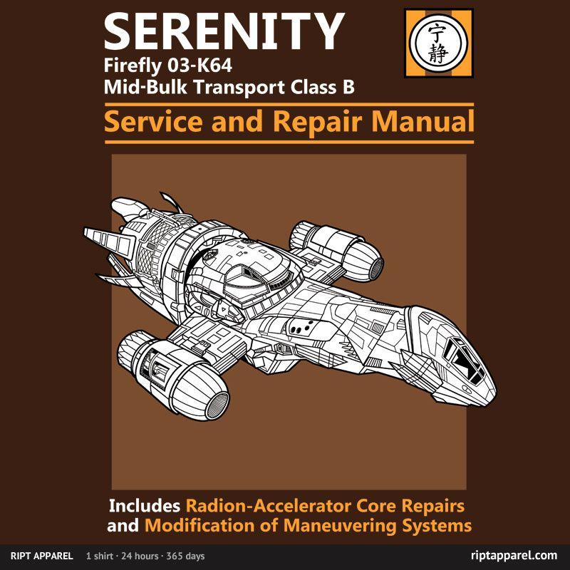 serenity firefly 03 k64 mid bulk transport class b haynes service rh pinterest com GM Service Repair Manuals GM Service Repair Manuals